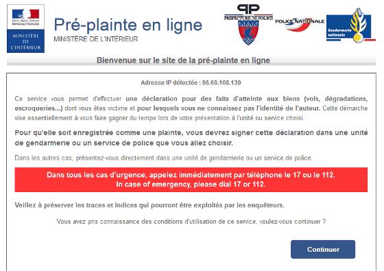 Montpellier La Pre Plainte En Ligne Pour Ne Pas Attendre Au